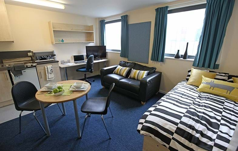Nottingham Trinity Square Student Accommodation