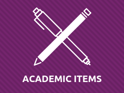 Academic Items